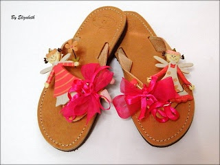 Handmade Shoes by Elizabeth: Παιδικά Σανδάλια-Bebe