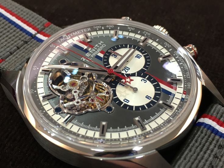 Zenith Chronomaster El primero Tour Auto edition limited edition 500 pieces grey version