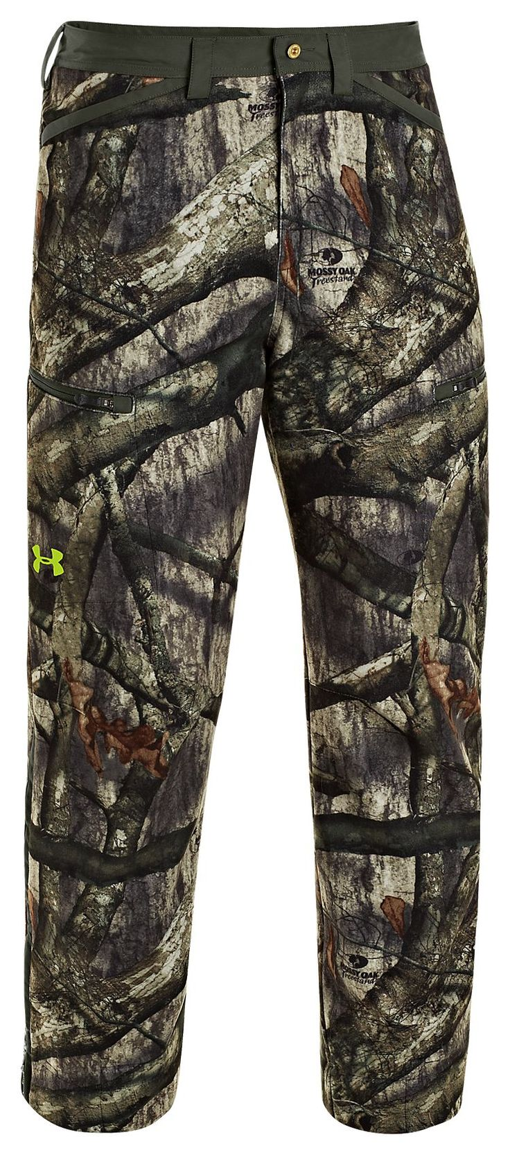 Under Armour® ColdGear® Infrared Scent Control Rut Pants for Men   Bass Pro Shops - $160 Mossy Oak Treestand