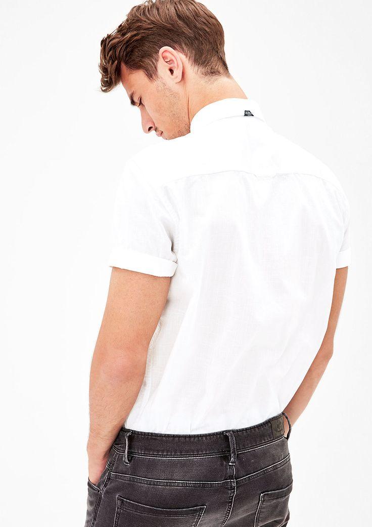 Regular: Leichtes Kurzarmhemd