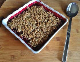 My Tiny Oven: Saskatoon Berry Crisp