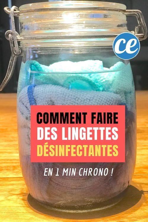 Voici Comment Faire Des Lingettes Desinfectantes En 1 Min Chrono