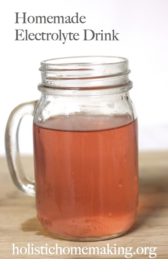 Holistic Homemaking The Truth About Sports Drinks (And An