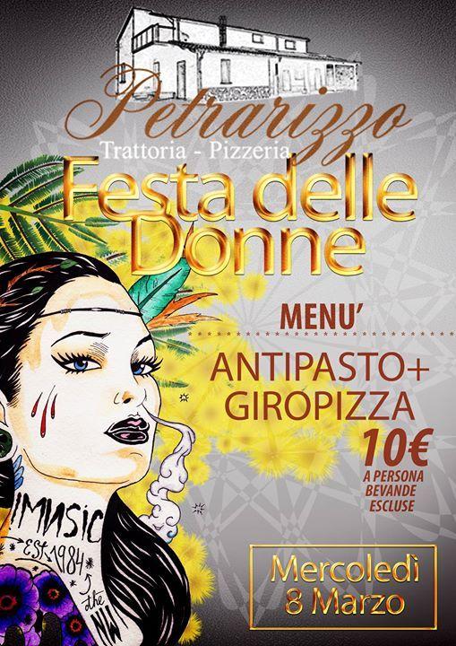 Antipasto + Giropizza  Euro 10,00 a persona (bevande escluse)  Solo su prenotazione Tel. 328.8027019
