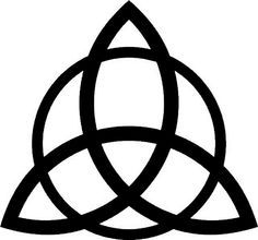 .Trinity Knot: Used by the Christians as the symbol for the Father, Son & Holy Spirit. This is not completely accurate because the first to use this symbol in reference to the Trinity were the Catholics of Ireland.