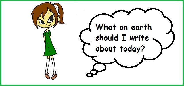 Deciding what to write about on your blog can be really hard!