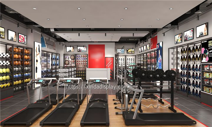 Modern Gym Equipment Store Display Activewear Fitness Shop Interior Design Ideas Shop Interior Design Store Design Interior Fitness Shop