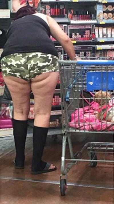 Camo Shorts at Walmart - Funny Pictures at Walmart