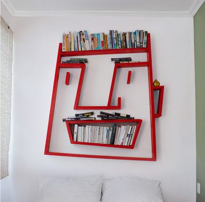 Captivating Bookshelf: Face Shelving Design Inspirations