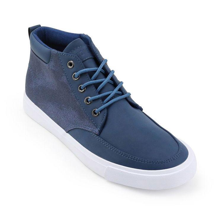 Unionbay Coupeville Men's High Top Sneakers, Size: medium (9.5), Blue (Navy)