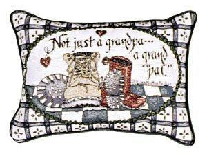 Grandpa Inspirational Decorative Tapestry Pillow
