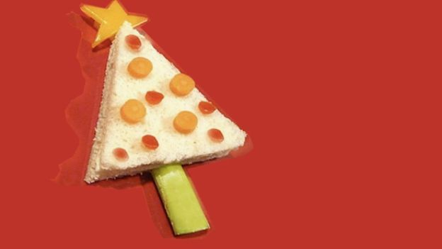 antipasto di Natale per i bambini: gli antipasti alberello.