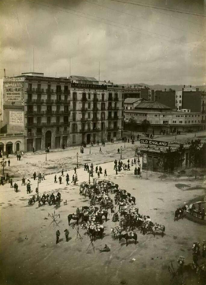 Plaça Catalunya, 1888 - Barcelona