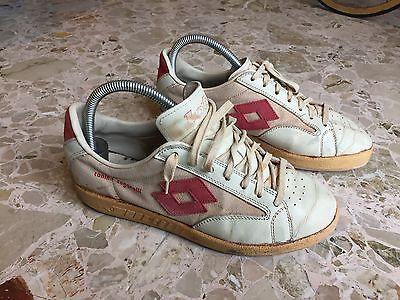 Scarpe Lotto Tonino Zugarelli anni 70's originali #authentic #vintage #70s #tennis #sneakers #shoes #madeinitaly