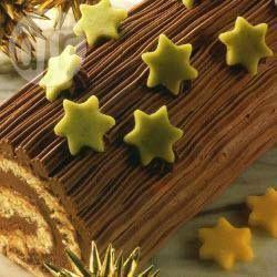 Buche de Noël, my favorite childhood dessert from the holidays