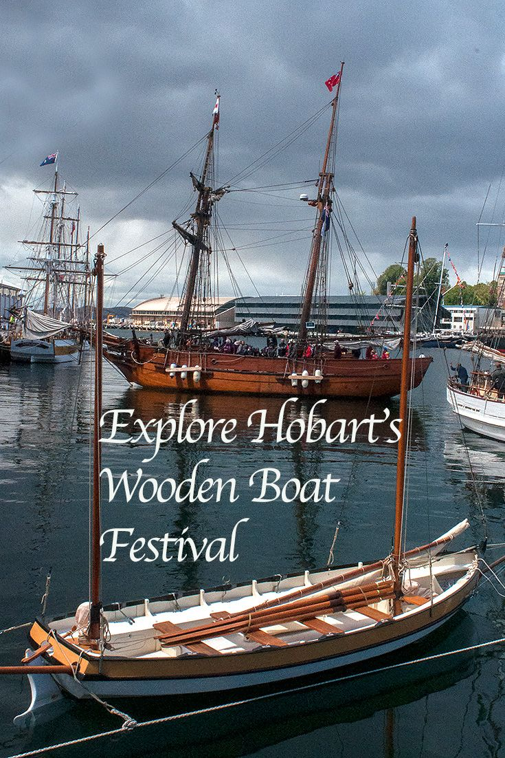 Witness the colourful collision of culture and history at Hobart's jovial Australian Wooden Boat Festival.