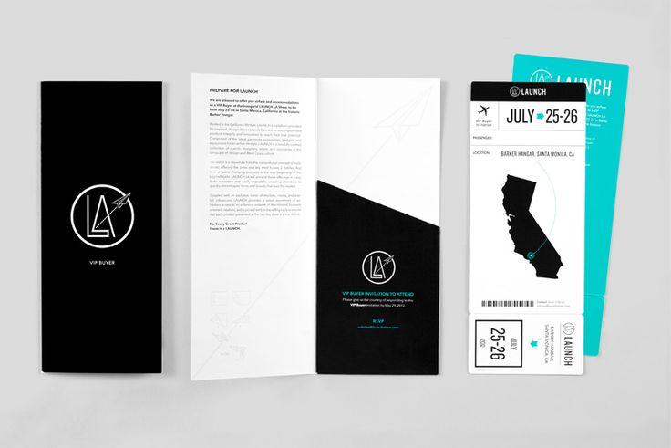 launch tradeshow identity   Designer: Wedge  Lever