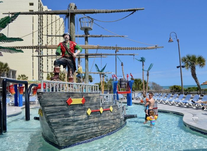 All about Captain's Quarters Resort in Myrtle Beach, SC!