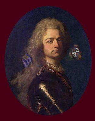 Charles Louis de Biaudos, Comte de Castéja (1683 - 1755) / By H. Rigaud.