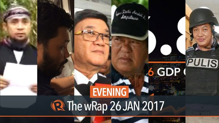 Aguirre, Philippine economy, ISIS | Evening wRap - WATCH VIDEO HERE -> http://dutertenewstoday.com/aguirre-philippine-economy-isis-evening-wrap/   Today on Rappler: – Aguirre: Aquino has a lot to explain in Mamasapano clash – Sta. Isabel had P20-M net worth – Philippines records 6.8% economic growth in 2016 – 1st petition against Oplan TokHang filed before SC – Lorenzana: ISIS made contact with Abu...