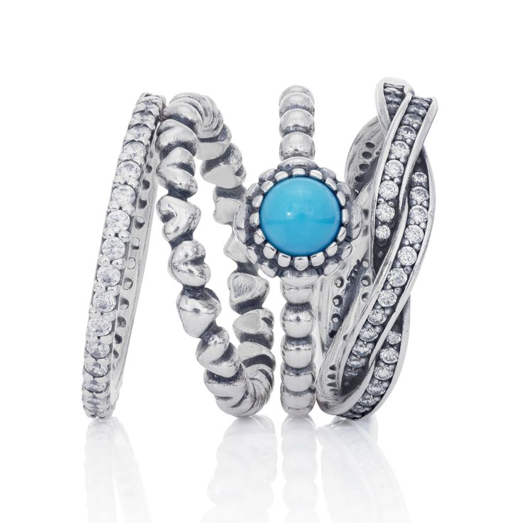 December Birthstone Ring | PANDORA eSTORE