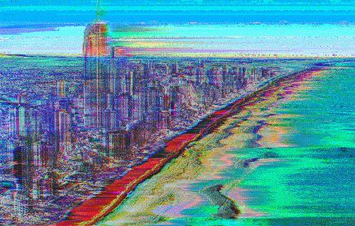 W̤a͇̞͖v̭̰̯̲͇̖̣e̘̱̙ṣ Glitched this one frame by frame by using a frequency shift VST plugin on a .fits file multiple times