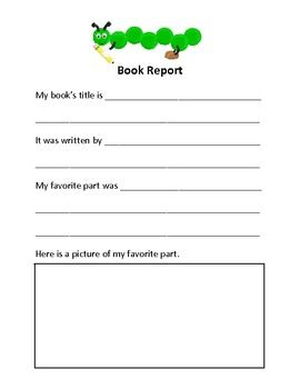Book report on a book