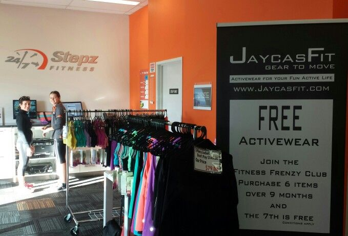 A super warm welcome at Stepz Fitness Brightwater.