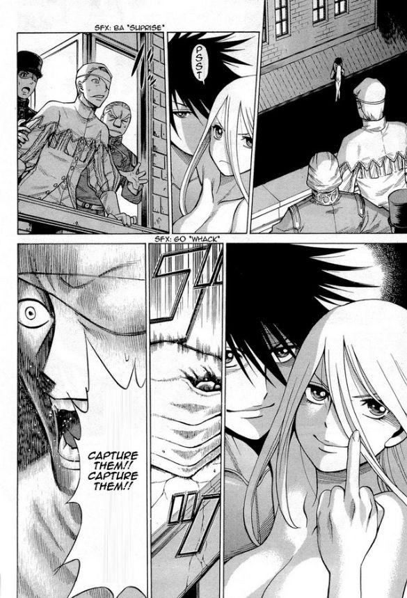 Dance in the Vampire Bund | manga pages | Pinterest | Dance, Vampire ...