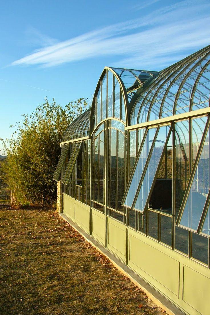 Oltre 1000 idee su serre en verre su pinterest une serre for Serre de jardin en fer forge