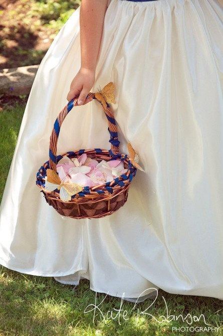 Flower Girl Baskets Pinterest : Best images about flower girl basket on