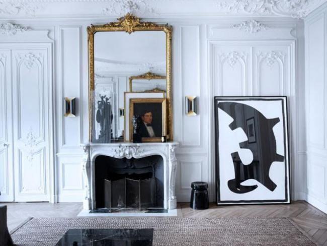 Un espectacular apartamento parisino con toques sofisticados y rústicos a la vez
