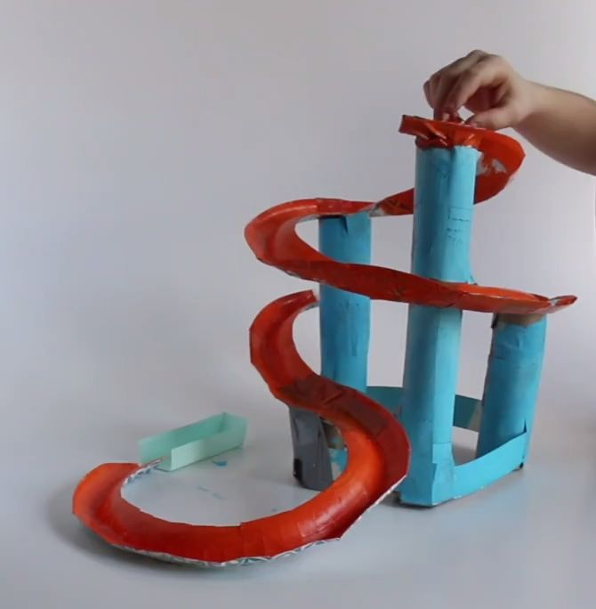 STEM Activity Challenge Marble Run 3.-5. Klasse