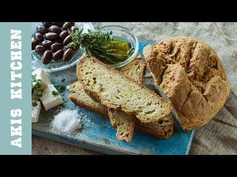 Νο Knead Bread | Akis Petretzikis