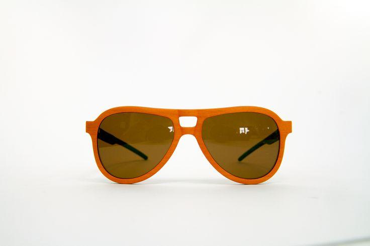CYGNUS 504 BY FEB31ST Gafas de Sol  Lentes Polarizados  Madera  Fabricadas a mano en Italia  100% Personalizables