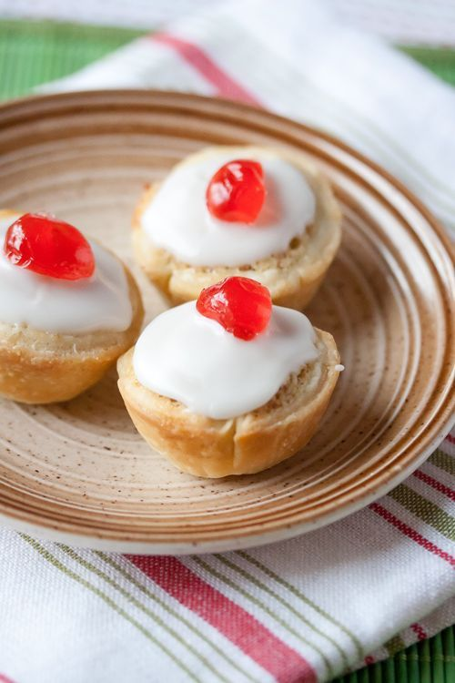 Mini Bakewell Tarts pack all of the delicious jammy goodness of the classic British dessert, only in a bite-sized format. (And with a cherry on top!)