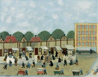 Louis Vivin - Street Market