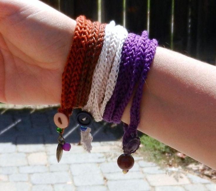 crochet wrap bracelet pattern | Try a New Technique With These 10 Quick Crochet Bracelet Patterns