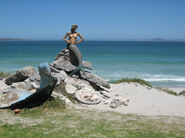 Mermaid at Club Mykonos - Langebaan by Bug-E, via Flickr