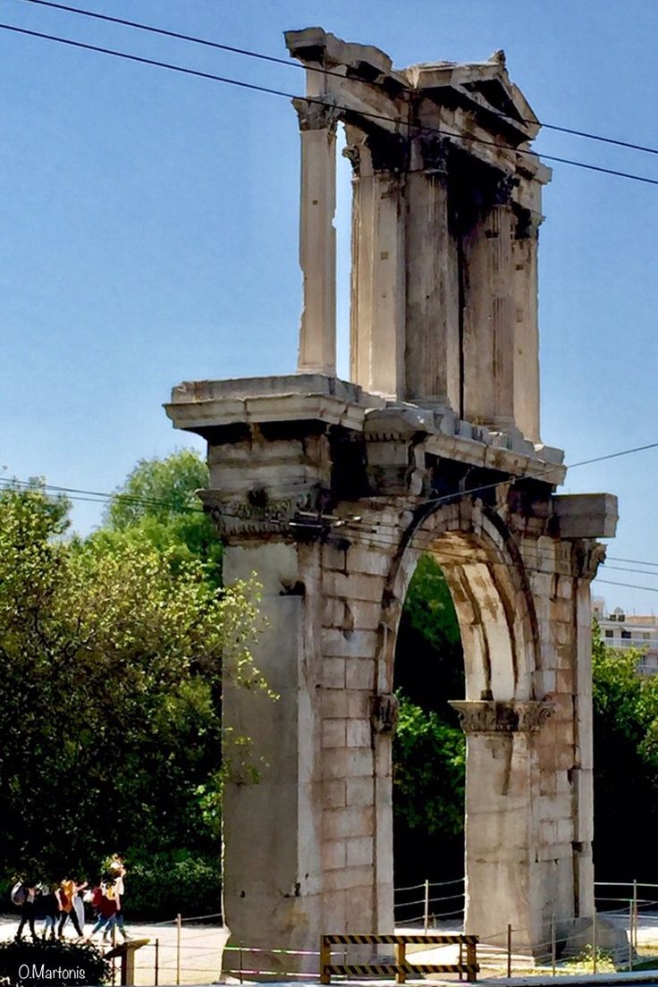 Arch of Hadrian,Athens,Greece