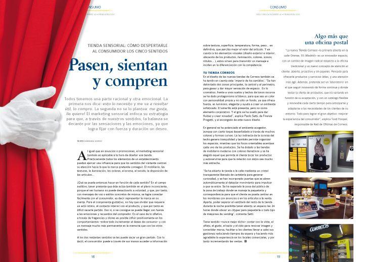 Páginas interiores del número 42 de la publicación.