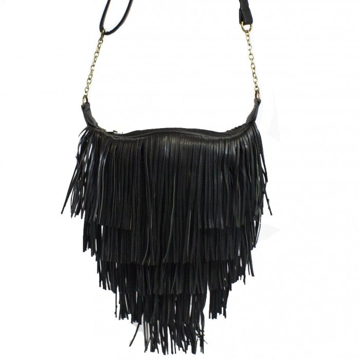 Olivia Fringe Satchel | Discount Handbags & Purses | Handbag Heaven