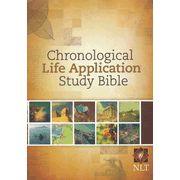 NLT Chronological Life Application Study Bible, Hardcover