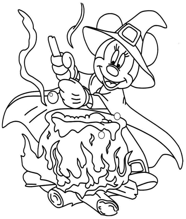 296 best images about Minnie Mouse coloring pages for