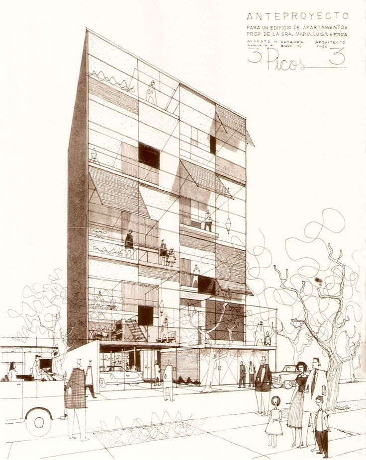 Cubo fotografia drawings pinterest pranchas for Ad architectural design