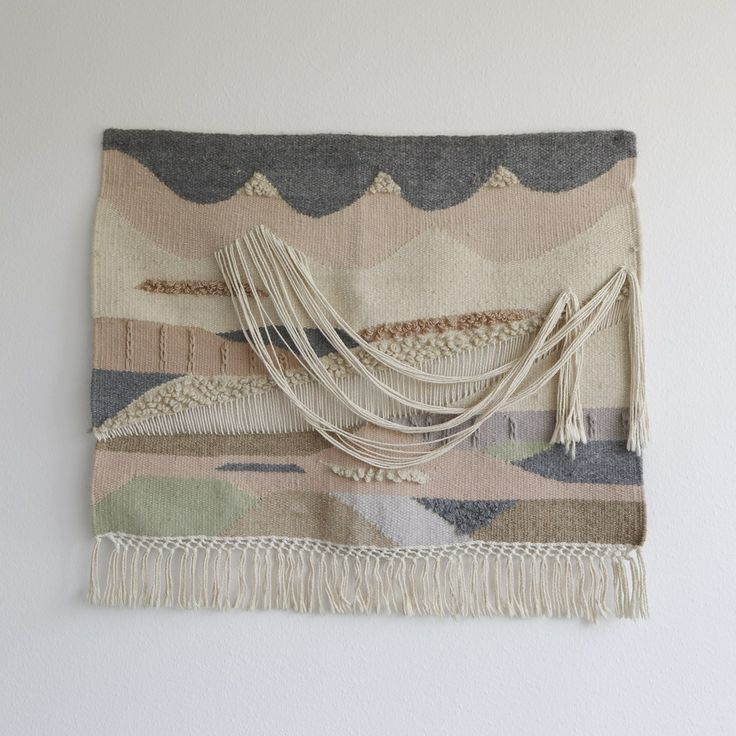 Image of Very beautiful and unique wall hanging made of wool