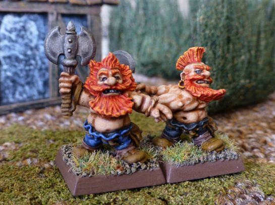 Warhammer Dwarf Giant Slayers for Oldhammer