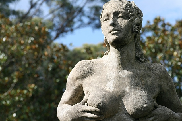 Norman Lindsay Sculpture by sillypucci, via Flickr