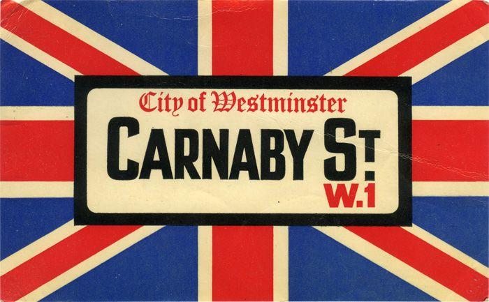 Carnaby Street postcard