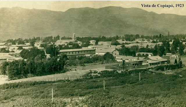 Vista de Copiapó, año 1923.